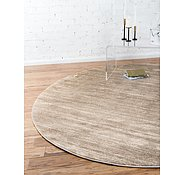 Link to Unique Loom 8' x 8' Uptown Collection by Jill Zarin Round Rug