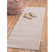 Link to Unique Loom 2' 2 x 6' Uptown Collection by Jill Zarin Runner Rug