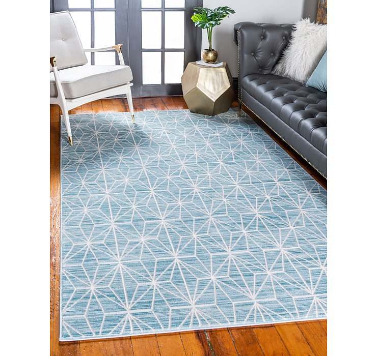 Jill Zarin Blue Uptown Collection Rug