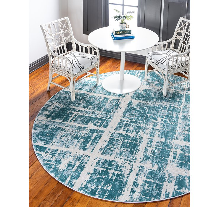 Jill Zarin Turquoise Uptown Collection Round...