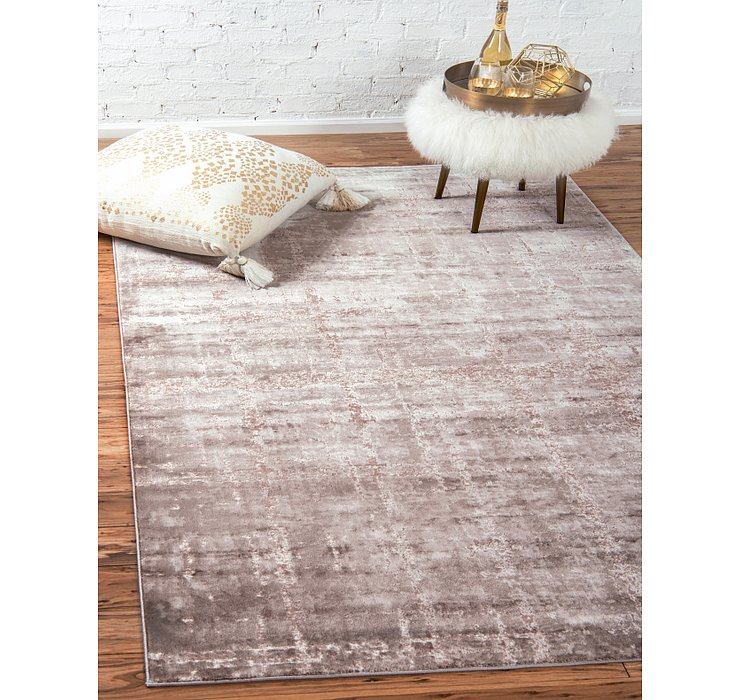 Jill Zarin Light Brown Uptown Collection Rug