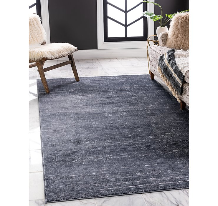 Jill Zarin Navy Blue Uptown Collection Rug