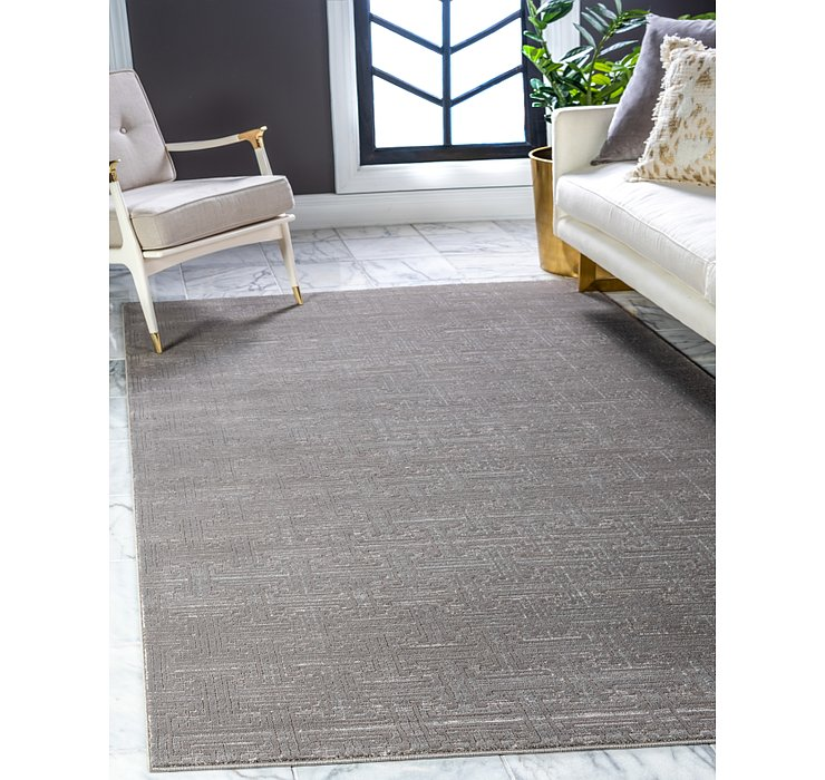 Jill Zarin Gray Uptown Collection Rug
