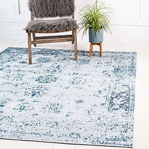 Unique Loom 8' x 8' Sofia Square Rug