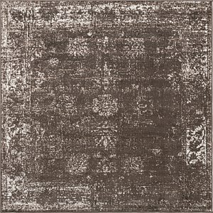 Unique Loom 6' x 6' Sofia Square Rug