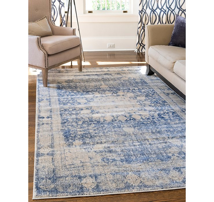 Navy Blue Oxfordshire Rug