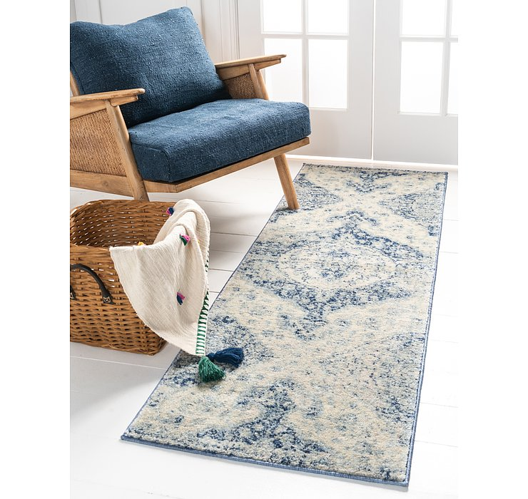 Blue Oxfordshire Runner Rug