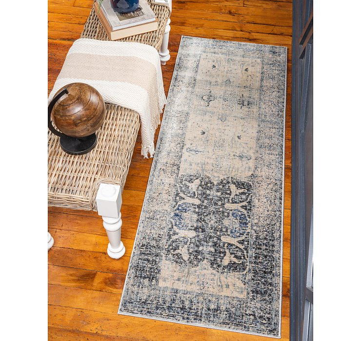 Gray Oxfordshire Runner Rug