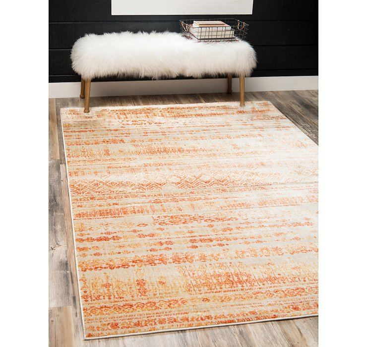 Orange Apollo Rug