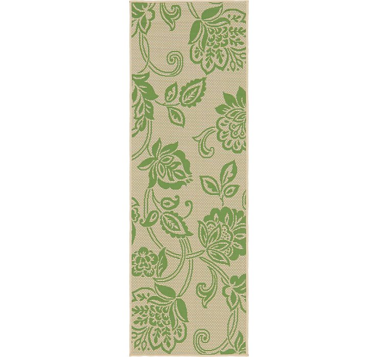 2' 2 x 6' Outdoor Botanical Runne...