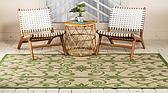 7' x 10' Outdoor Botanical Rug thumbnail image 3