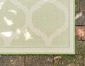 3' 3 x 5' Outdoor Lattice Rug thumbnail