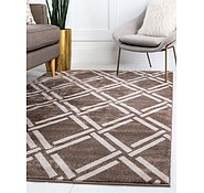 Link to Unique Loom 5' 3 x 7' 7 Trellis Rug