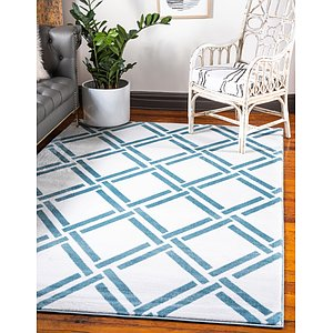 Unique Loom 5' 3 x 7' 7 Trellis Rug