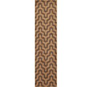 Link to 2' 7 x 9' 10 Chevron Runner Rug