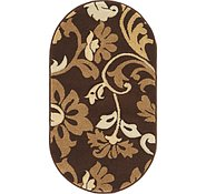 Link to 2' x 3' 7 Damask Oval Rug