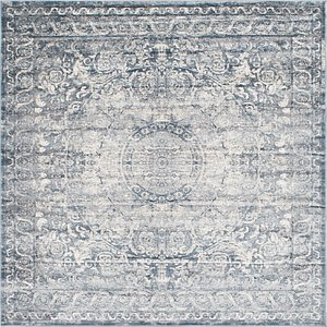 Unique Loom 7' x 7' Chateau Square Rug