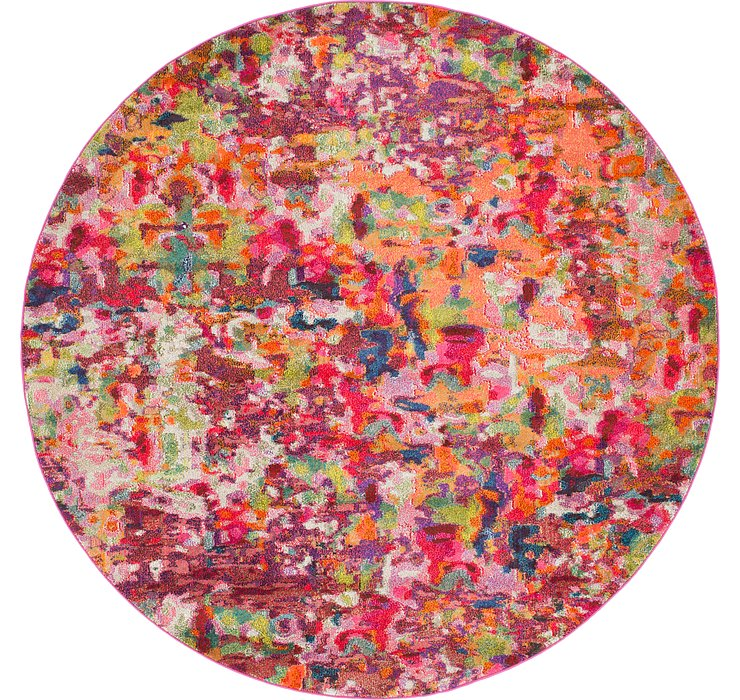 8' x 8' Spectrum Round Rug
