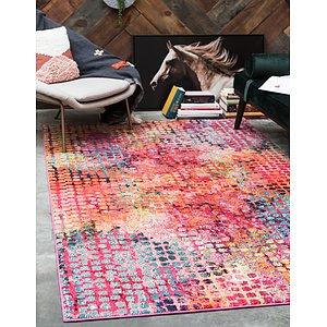 Unique Loom 5' x 8' Chromatic Rug