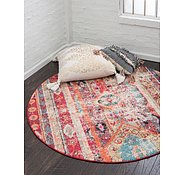 Link to 3' 3 x 3' 3 Santa Fe Round Rug