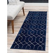 Link to Unique Loom 2' x 6'  Marilyn Monroe™ Glam Trellis Runner Rug
