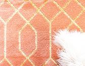 2' x 6'  Marilyn Monroe™ Glam Trellis Runner Rug thumbnail image 4