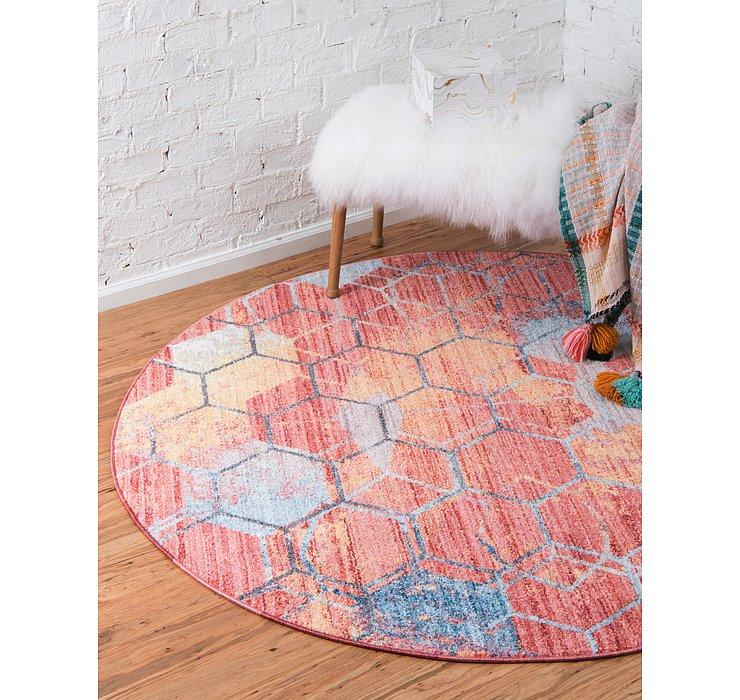 6' x 6' Prism Round Rug