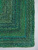 2' 6 x 6' 1 Braided Chindi Runner Rug thumbnail