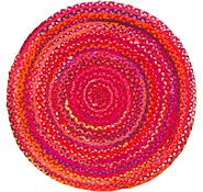 Link to 3' 3 x 3' 3 Braided Chindi Round Rug