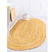 Link to 100cm x 152cm Braided Chindi Oval Rug