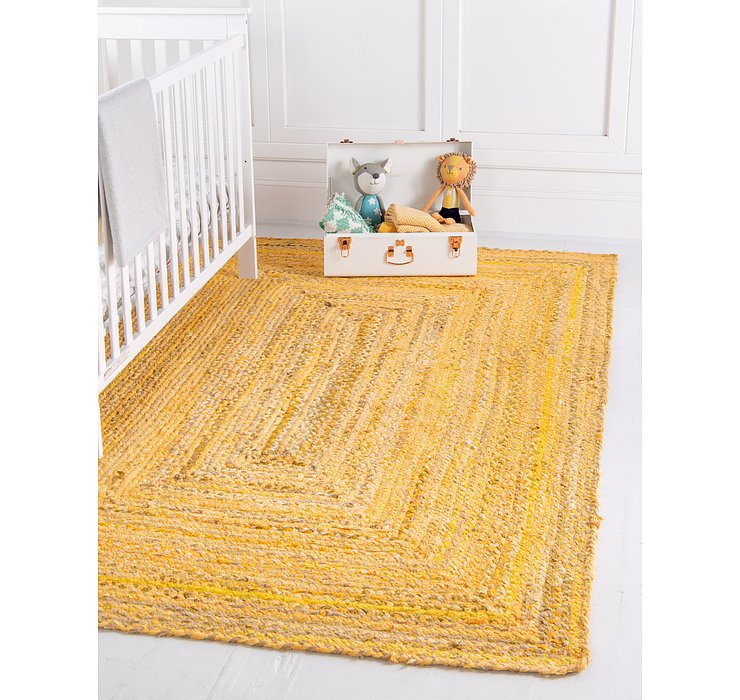 4' x 6' Braided Chindi Rug