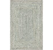 Link to Unique Loom 6' x 9' Braided Chindi Rug