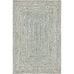Unique Loom 6' x 9' Braided Chindi Rug