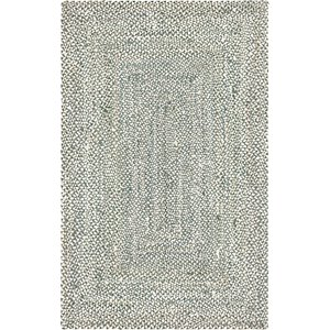 Unique Loom 5' x 8' Braided Chindi Rug