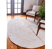 Link to 8' x 10' Braided Chindi Oval Rug