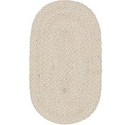Link to 3' 3 x 5' Braided Chindi Oval Rug