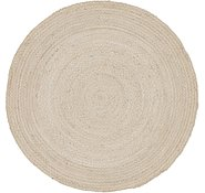 Link to 8' x 8' Braided Chindi Round Rug