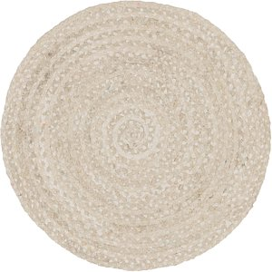 Unique Loom 3' 3 x 3' 3 Braided Chindi Round Rug