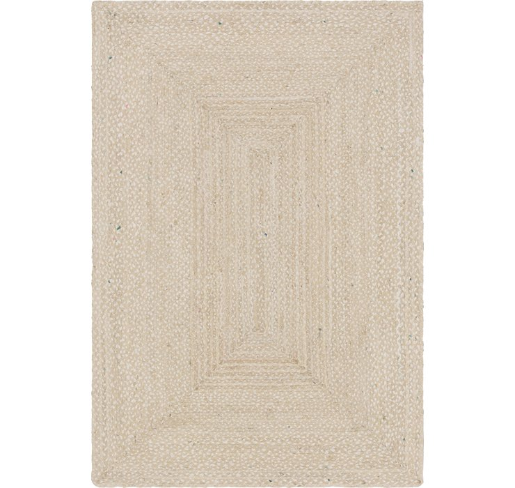 6' x 9' Braided Chindi Rug