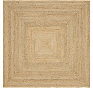Link to 8' x 8' Braided Jute Square Rug
