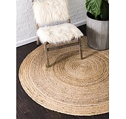 Link to 183cm x 183cm Braided Jute Round Rug