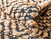 Unique Loom 2' x 3' Braided Jute Rug thumbnail image 5