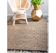 Link to 3' 3 x 5' Braided Jute Rug
