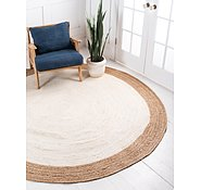 Link to 100cm x 100cm Braided Jute Round Rug