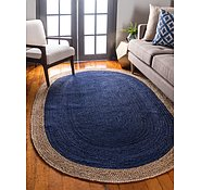 Link to 152cm x 245cm Braided Jute Oval Rug