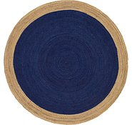 Link to Unique Loom 8' x 8' Braided Jute Round Rug