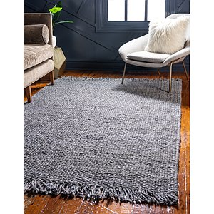 Unique Loom 6' x 9' Chunky Jute Rug
