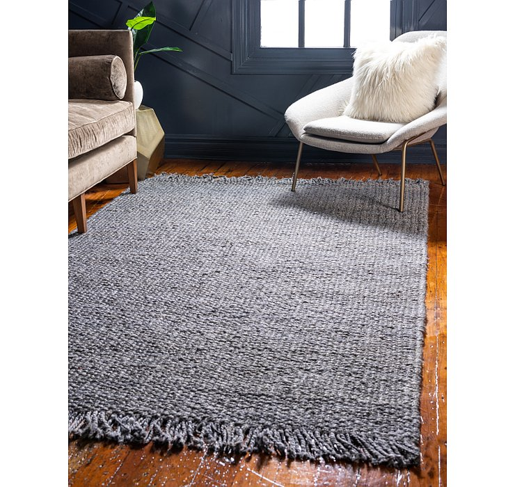 Unique Loom 8' x 10' Chunky Jute Rug