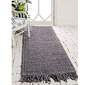 Link to Unique Loom 2' 6 x 6' Chunky Jute Runner Rug