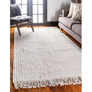Unique Loom 4' x 6' Chunky Jute Rug